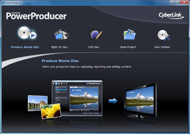 Cyberlink prezanton PowerProducer 6, për incizimin e disqeve