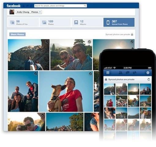 Facebook lançon sinkronizim automatik të fotove për Android dhe iPhone
