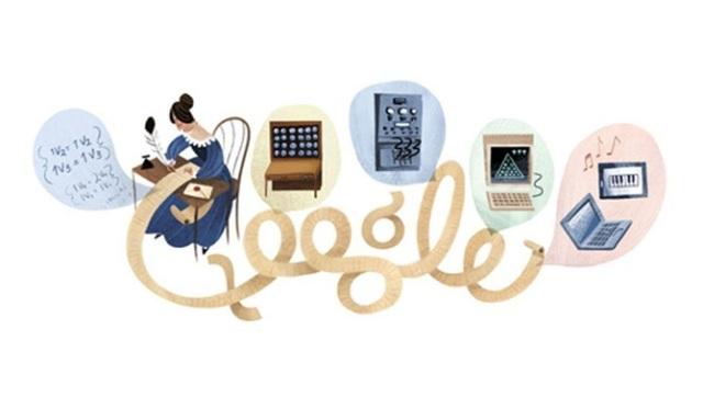 """Google i kushton një """"doodle"""" programueses së parë Ada Lovelace"""