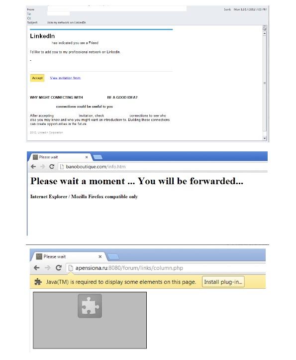 Linkedin Virus