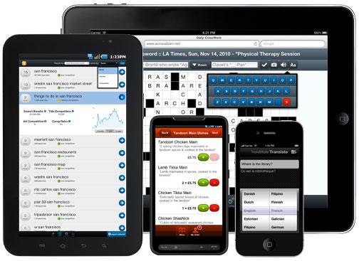Shfletuesit mobil: Chrome rritet, Opera po zhduket, Safari dominon