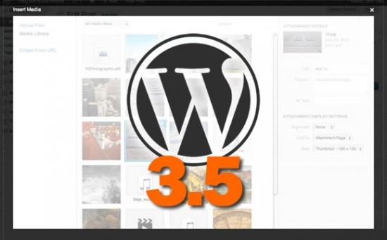 Mbërrin WordPress 3.5, i disponueshëm për shkarkim