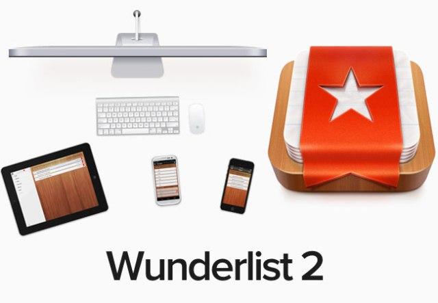 Aplikacioni Wunderlist 2 bëhet i thjeshtë për të gjitha platformat