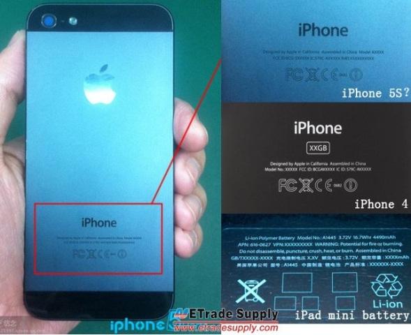 Shfaqen në internet fotot e mundshme të iPhone 5S