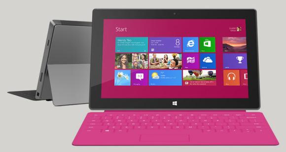 Microsoft do të lançojë tre tabletë të rinj Surface në 2013-n