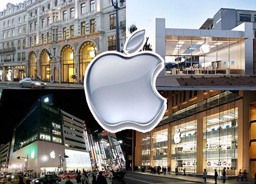 Dyqanet e Apple që bien më tepër në sy