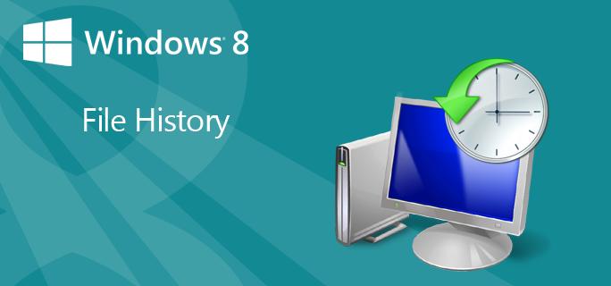 """Si të aktivizoni funksionin """"File History"""" të Windows 8"""