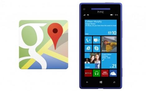 Rikthehet Google Maps në Windows Phone