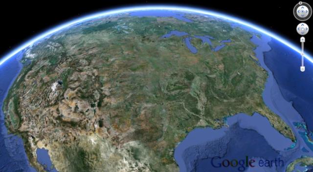 Google Earth 7 shton imazhe 3D për aplikacionet e desktop-it