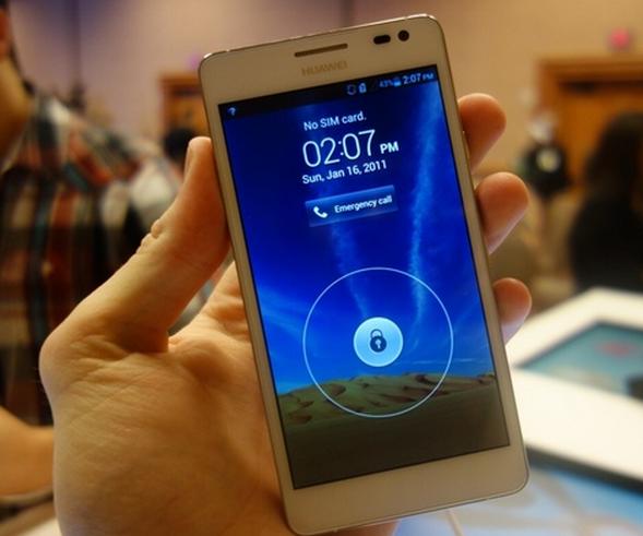 CES 2013: Smartfoni Huawei Ascend D2 rezistent ndaj ujit dhe pluhurit