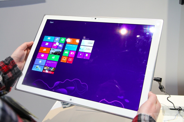 Panasonic's 4K Windows 8 tablet