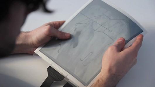 PaperTab, tablet i hollë pothuajse si një letër