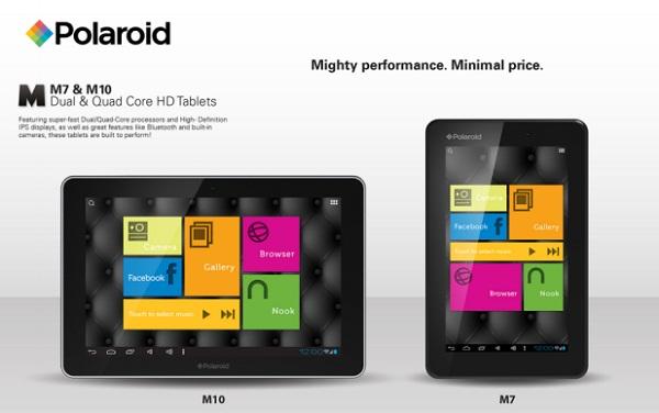 Polaroid prezanton dy tabletë M7 dhe M10