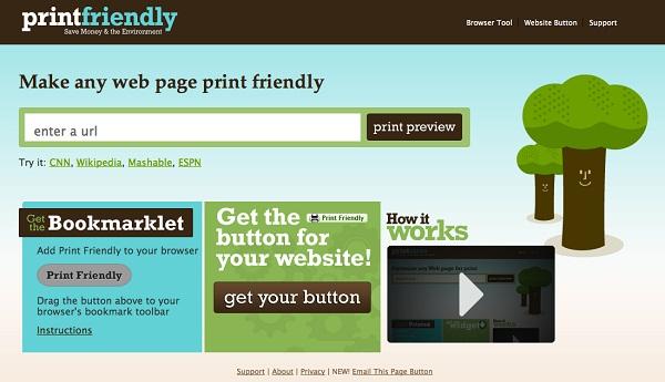 Print Friendly për Chrome optimizon uebfaqet për printim