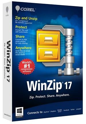 Winzip 17 shton integrim me shërbimin për cloud, Box