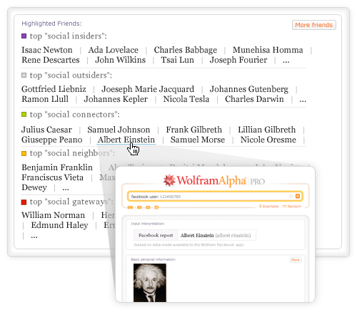 Wolfram Alpha's