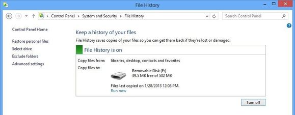 file history