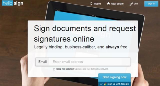 Aplikacioni HelloSign realizon nënshkrimin dixhital në Gmail