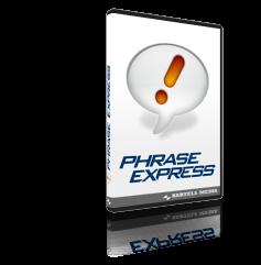 PhraseExpress, organizon përmbushje automatike të tekstit