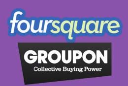Groupon në Foursquare