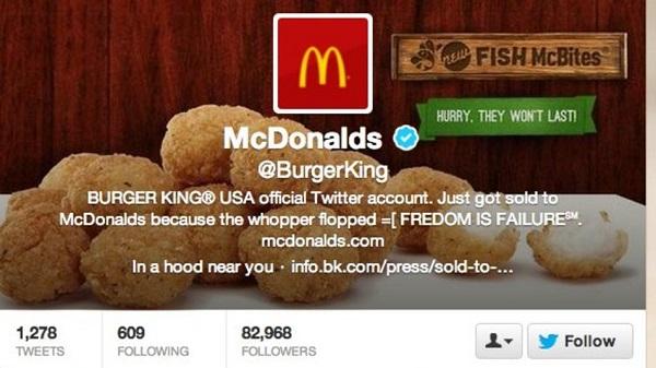 Sulmohet llogaria në Twitter e Burger King