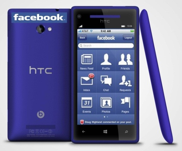 Rrjedhin informacione mbi specifikimet e HTC Facebook Phone
