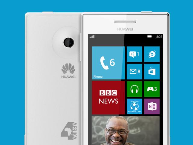 Microsoft dhe Huawei paraqesin Windows Phone për Afrikë
