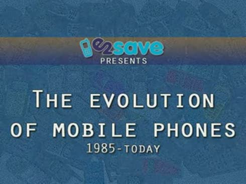 Mobile phones evolution