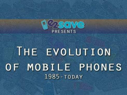 Evolucioni i celularëve nga viti 1985 deri më sot (Video)