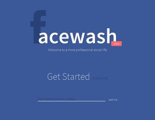 """Aplikacioni """"Facewash"""" pastron menjëherë profilin në Facebook"""