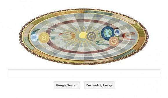 Google ndryshon logon për nder të Nikolla Kopernikut