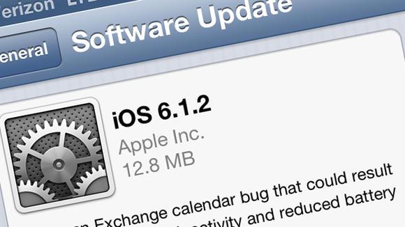 iOS 6.1.2 rregullon kalendarin Exchange, baterinë dhe problemin me fjalëkalimin