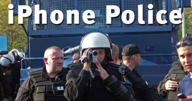 iPhone police