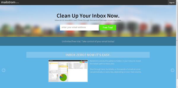 Aplikacioni Mailstrom ju ndihmon të fshini e-mailet e panevojshme në më pak se një orë