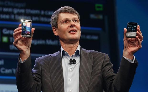 BlackBerry boss
