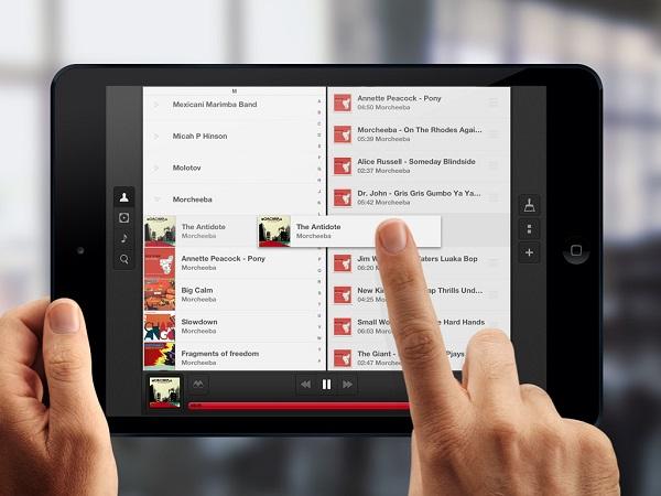 """""""Couch Music Player"""", aplikacioni për krijimin e listave të këngëve"""