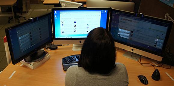 Sistemi me shumë monitorë që ju shmang shpërqendrimin