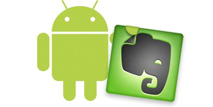 Evernote ridizajnon versionin e aplikacionit për Android
