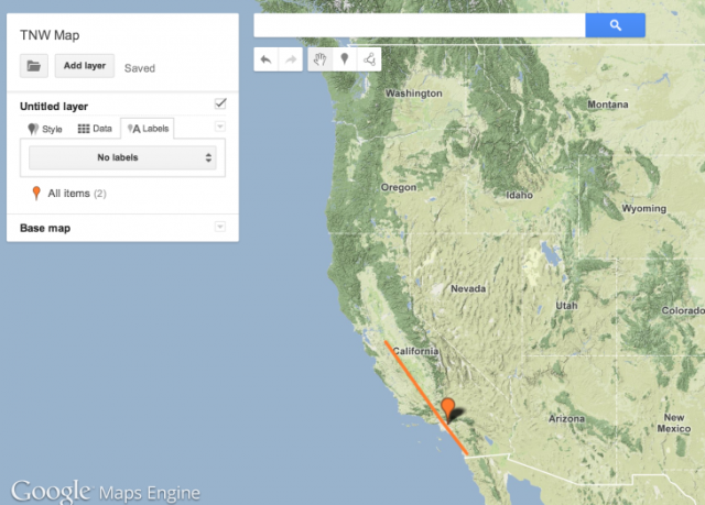 Google maps engine.