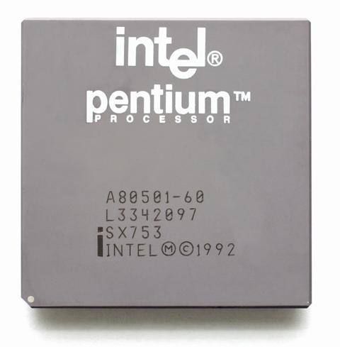 Procesorët e Intelit, Pentium, mbushin 20 vjeç