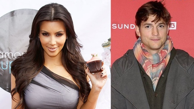 Kim Kardashian ashton
