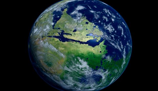 Shikoni se si do të dukej planeti Mars i gjelbëruar