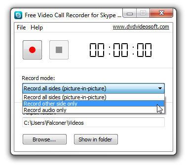 Skype rec