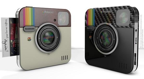Fansat e Instagram janë në pritje të kamerës Polaroid Socialmatic në 2014