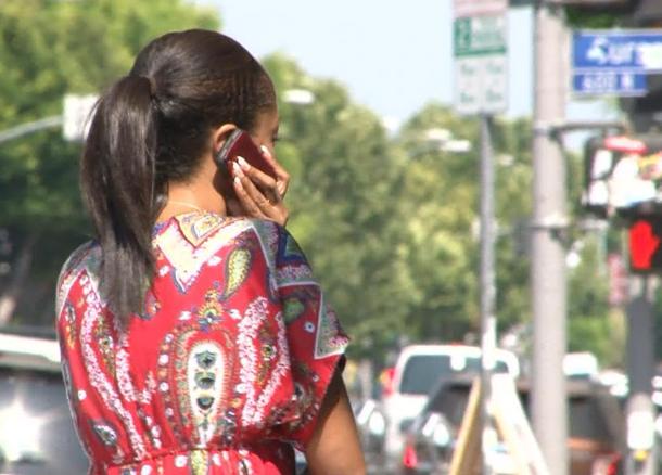 talking phone