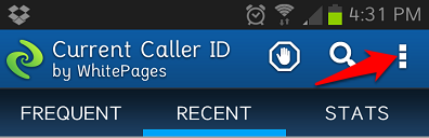 Current Caller ID 4