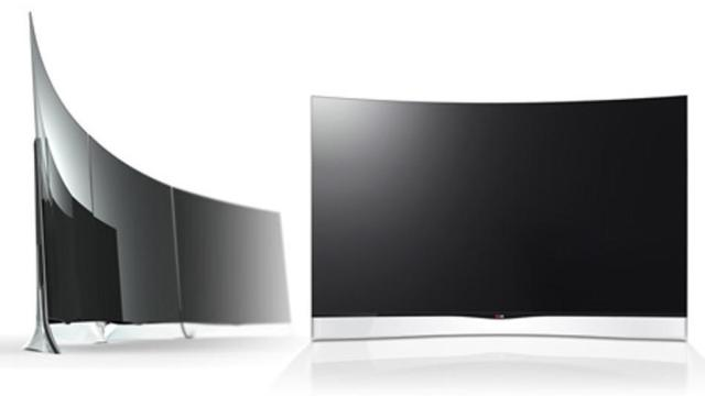 LG lançon televizorin e përthyer OLED 55 inç
