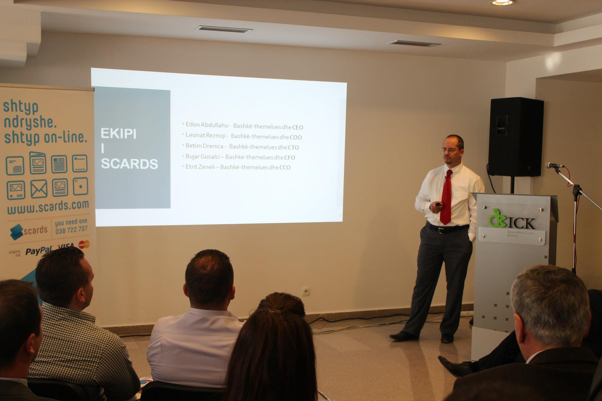 Inagurohet Scards, kompania më inovative shqiptare në industrinë e shtypit