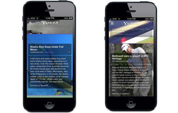 Yahoo iPhone