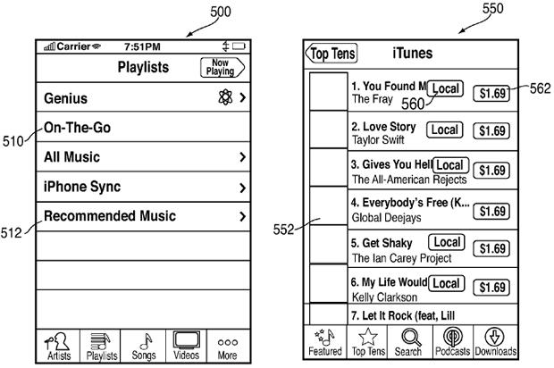 Patenta e Apple do mundësojë blerje në iTunes duke qene off line
